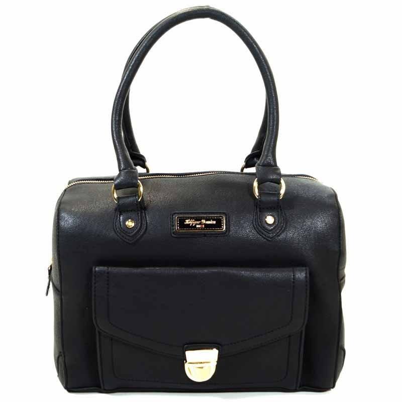 tommy hilfiger zoe duffle schwarz damen handtasche tasche. Black Bedroom Furniture Sets. Home Design Ideas